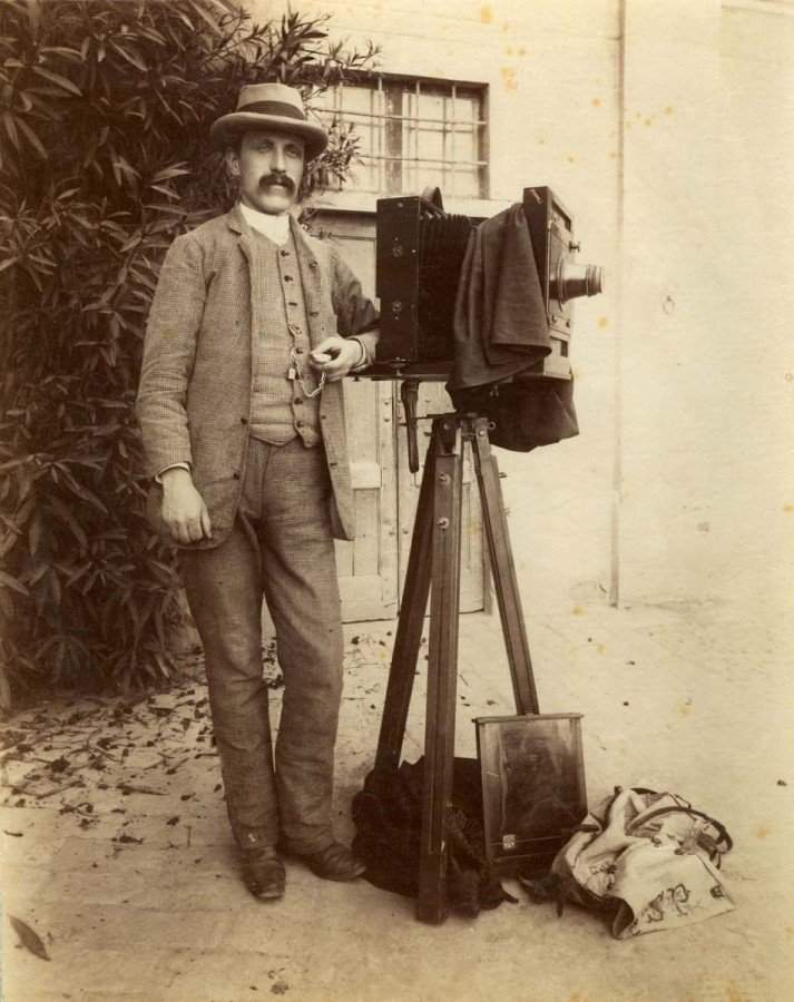 10. Фотограф Секондо Пиа. 1898 г.