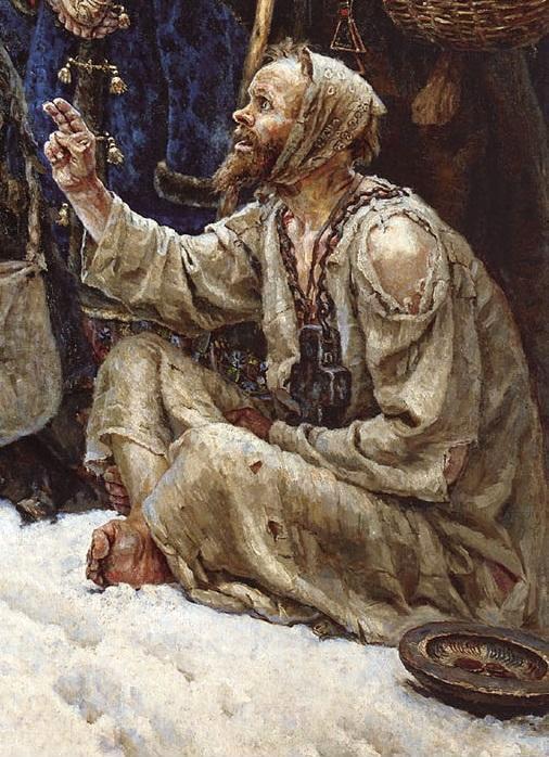 25. Боярыня Морозова. Фрагмент. Худ. Василий Суриков, 1887 год.jpg