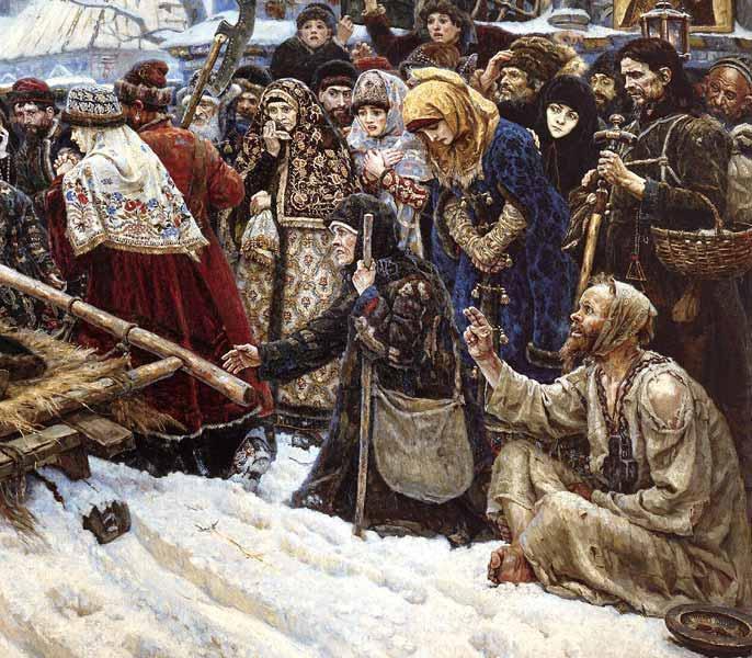 24. Боярыня Морозова. Фрагмент. Худ. Василий Суриков, 1887 год.jpg